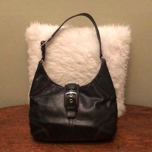 Coach Hamilton Leather Hobo Bag